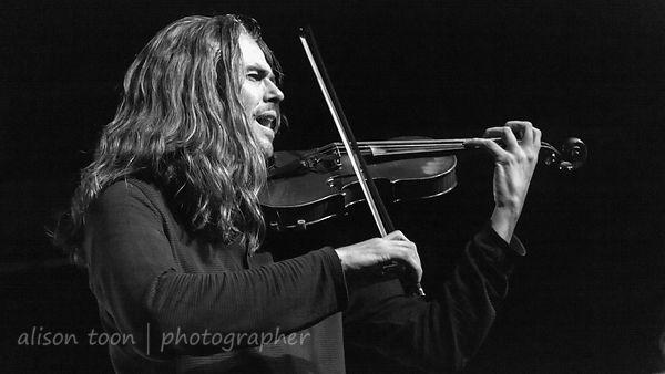Tim Charles, vocals and violin, Ne Obliviscaris