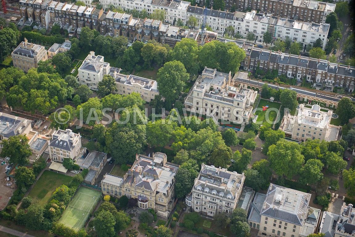 Kensington Palace Apartment Aerial View Aerial View Of Mansions In Kensington Palace