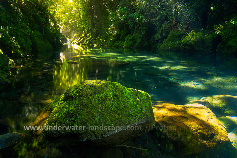 picture of the reunion island-Gabriel Barathieu - langevin river