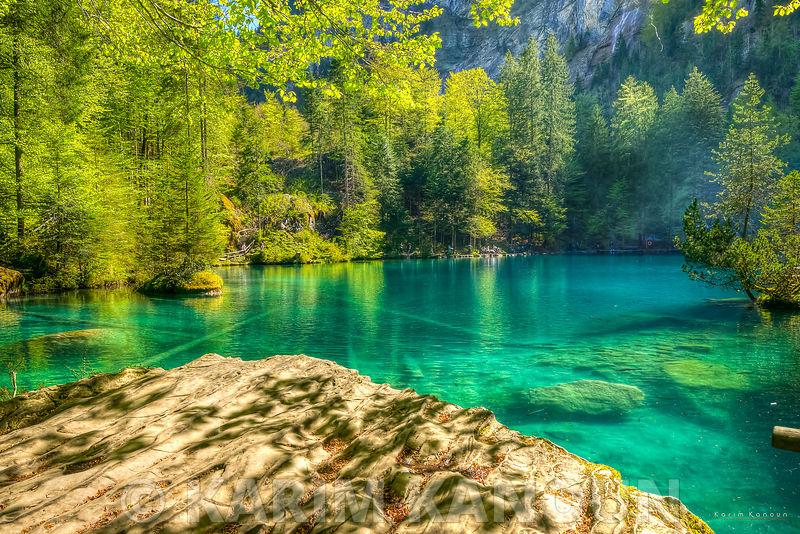Blausee crystal water - Bern