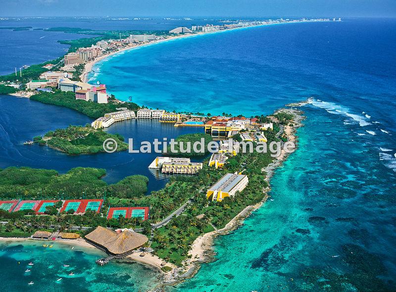 Latitude Image Punta Nizuc Cancun Aerial Photo