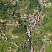 Sant'Olcese aerial photos