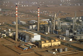 Sudan oil refinery