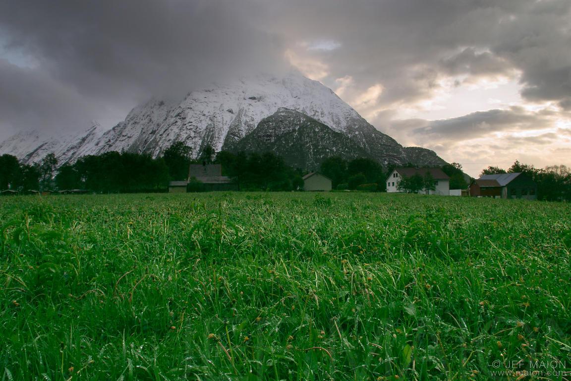 mountain and the greenary - photo #29