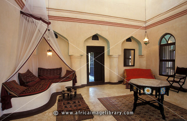 Photos And Pictures Of Traditional Swahili Room Interior With Antique Swahili Furniture Stone